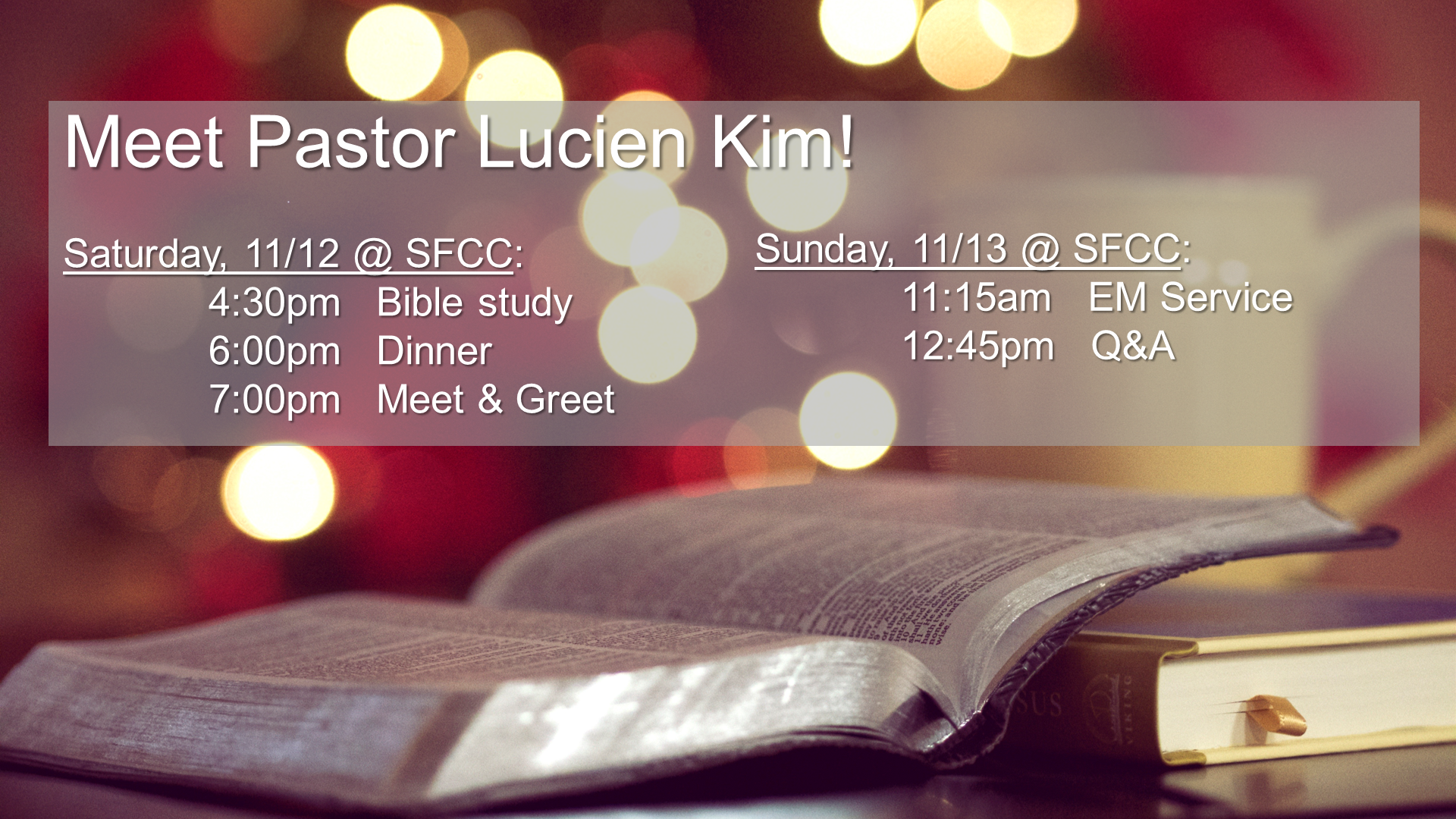 Pastor Lucien